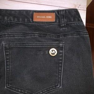16W Michael Kors Jeans Black Skinny leg